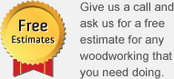 Free joinery estimates